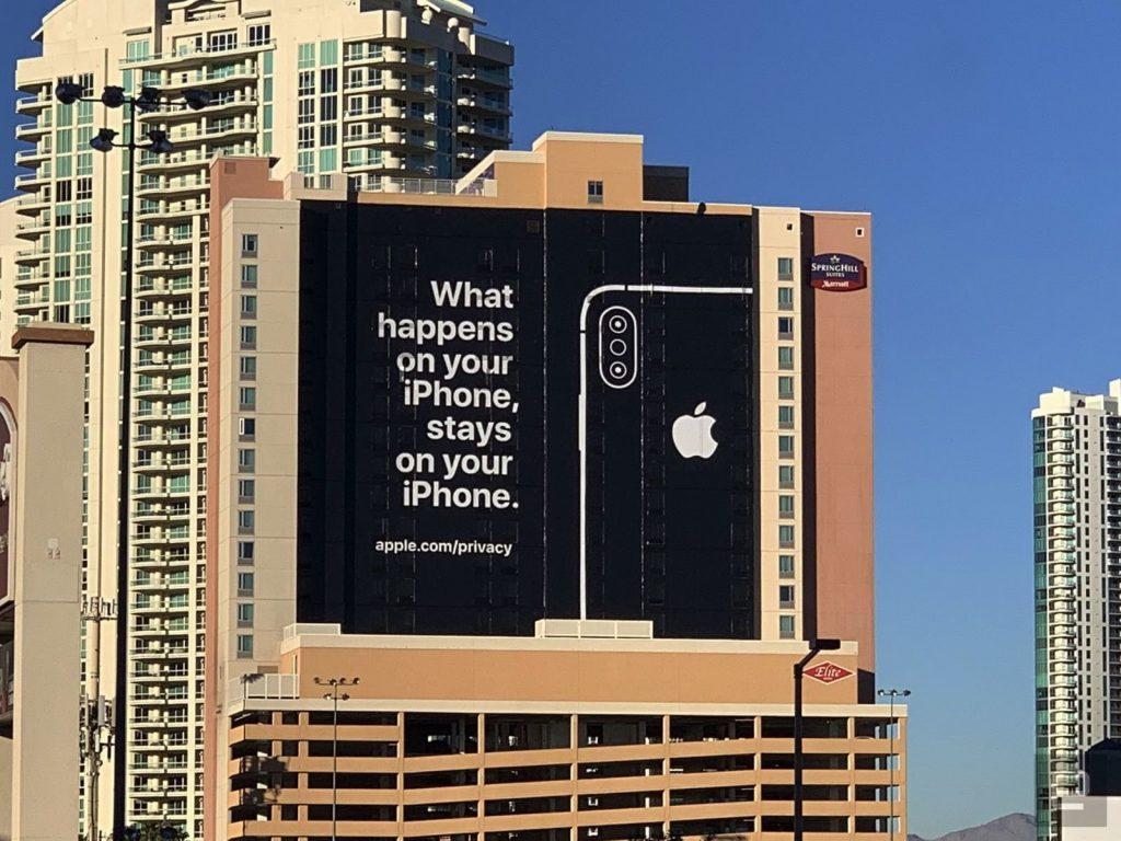Apple ces ad privacy