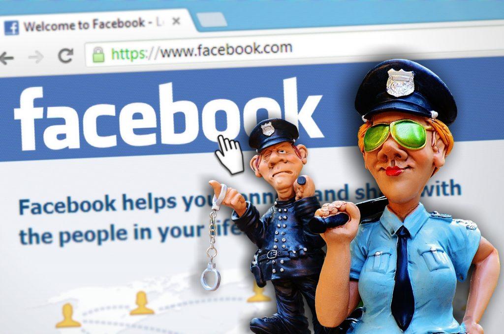 Facebook модерация