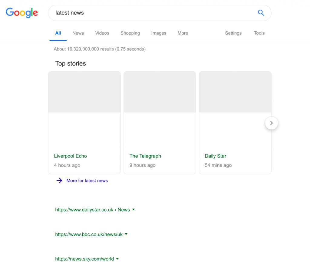 Google News EU regulation