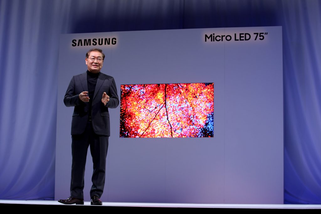 Samsung The Window MicroLED