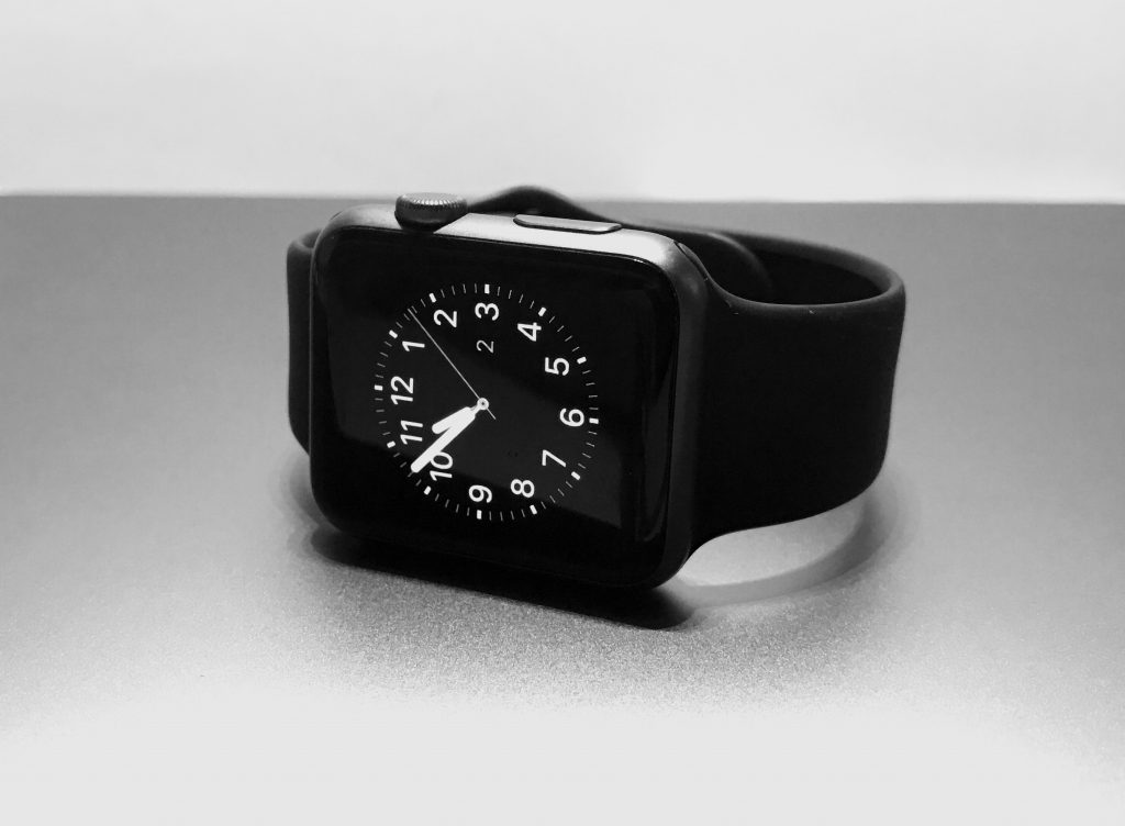 Apple Watch black and white