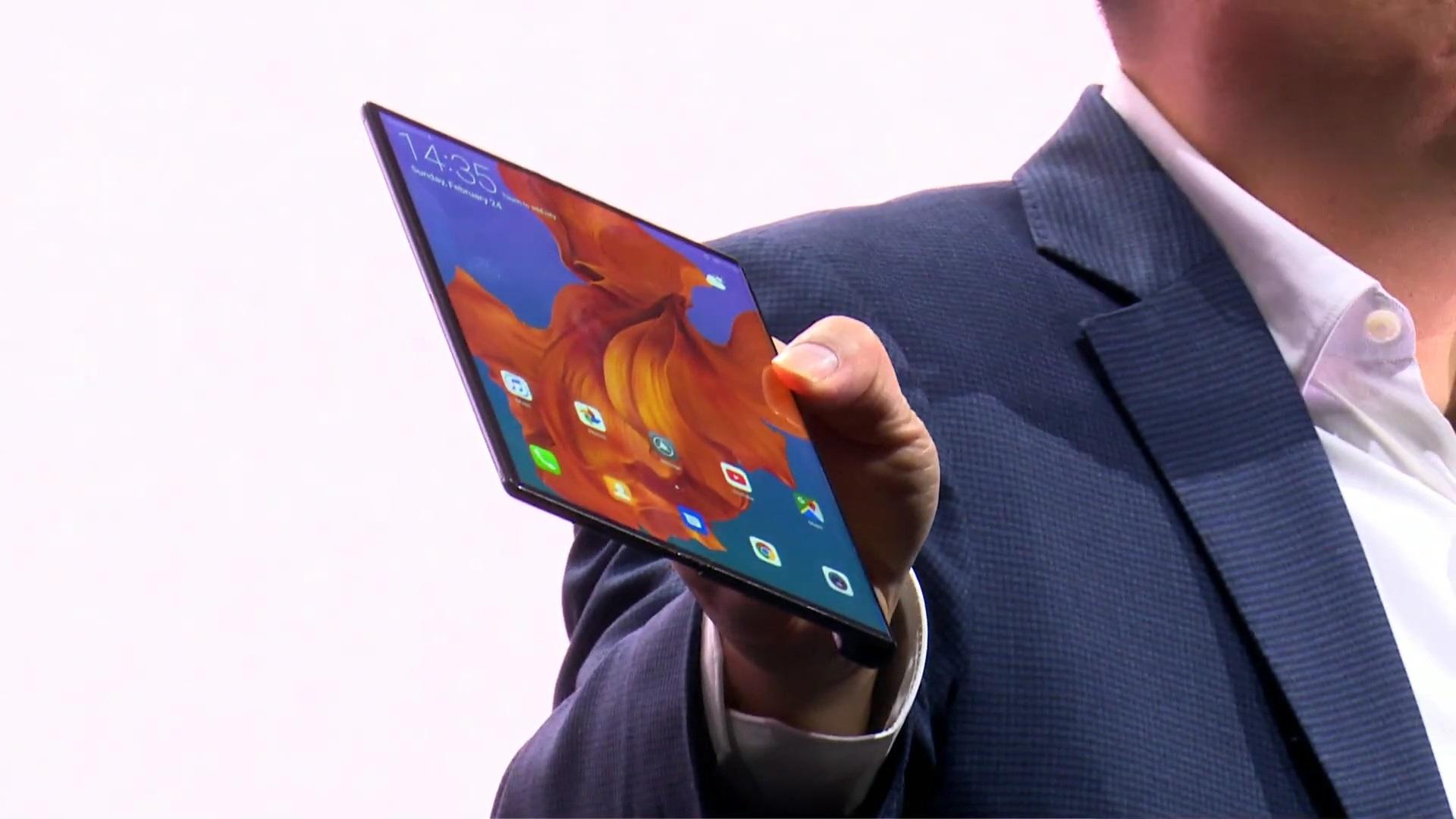 Foldable phones 3 Huawei