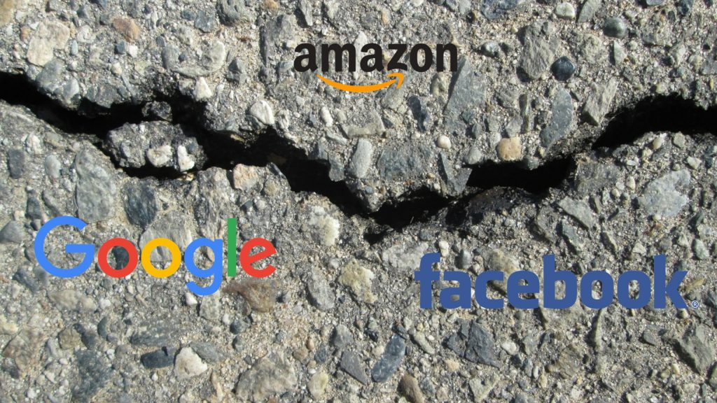 Регулация на технологичните гиганти - Amazon, Google и Facebook
