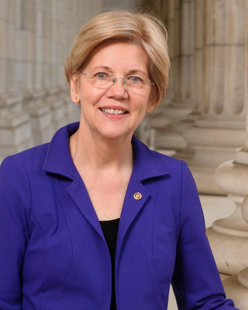 Сенатор Елизабет Уорън
