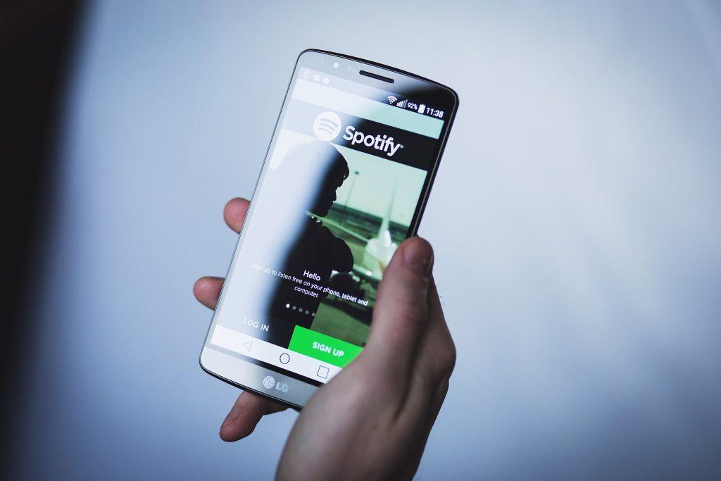 Spotify стрийминг на музика