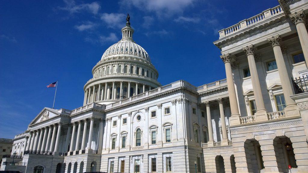 Капитолия - сградата на Конгреса на САЩ