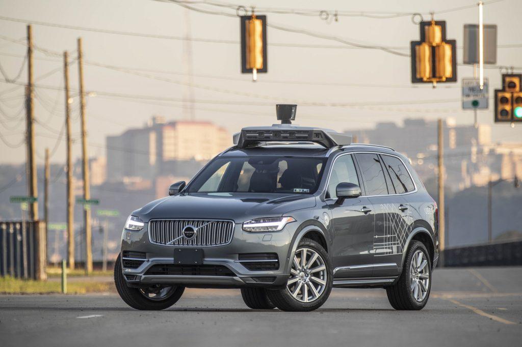 Автономна кола на Uber
