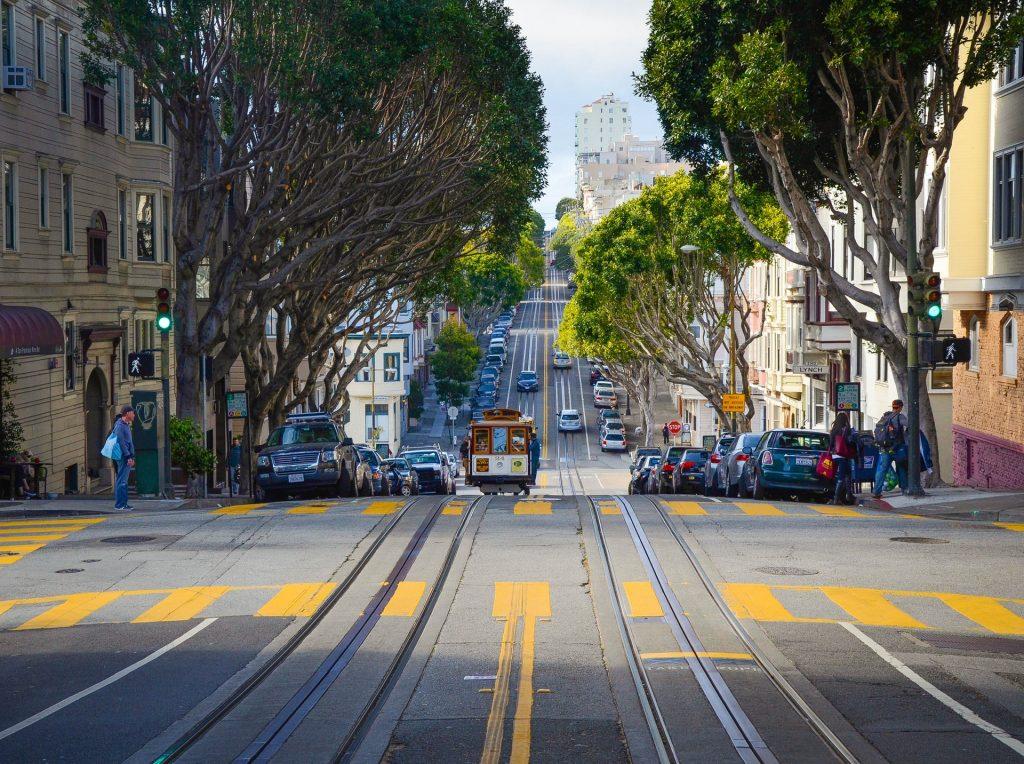Улица в Сан Франциско
