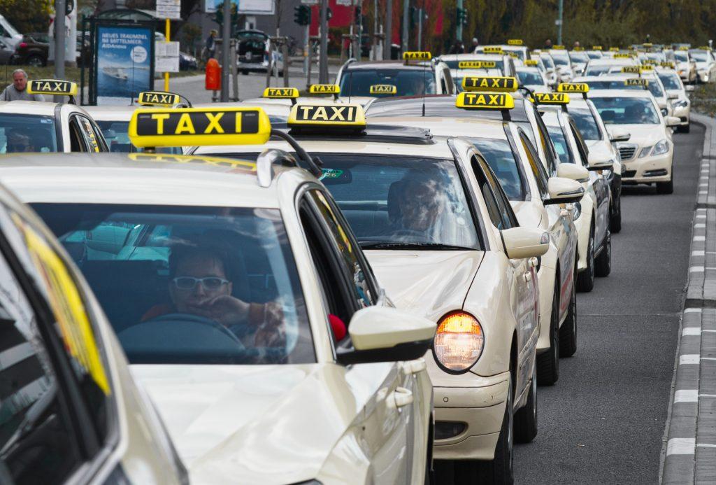 Протест на Таксита