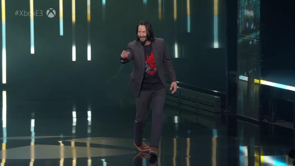 Keanu Reevs E3