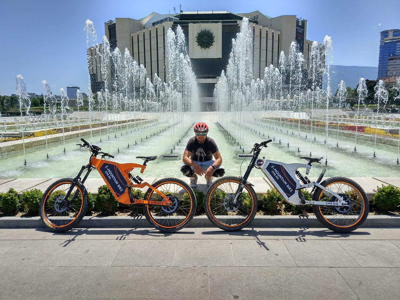 E-mountain bike sofia