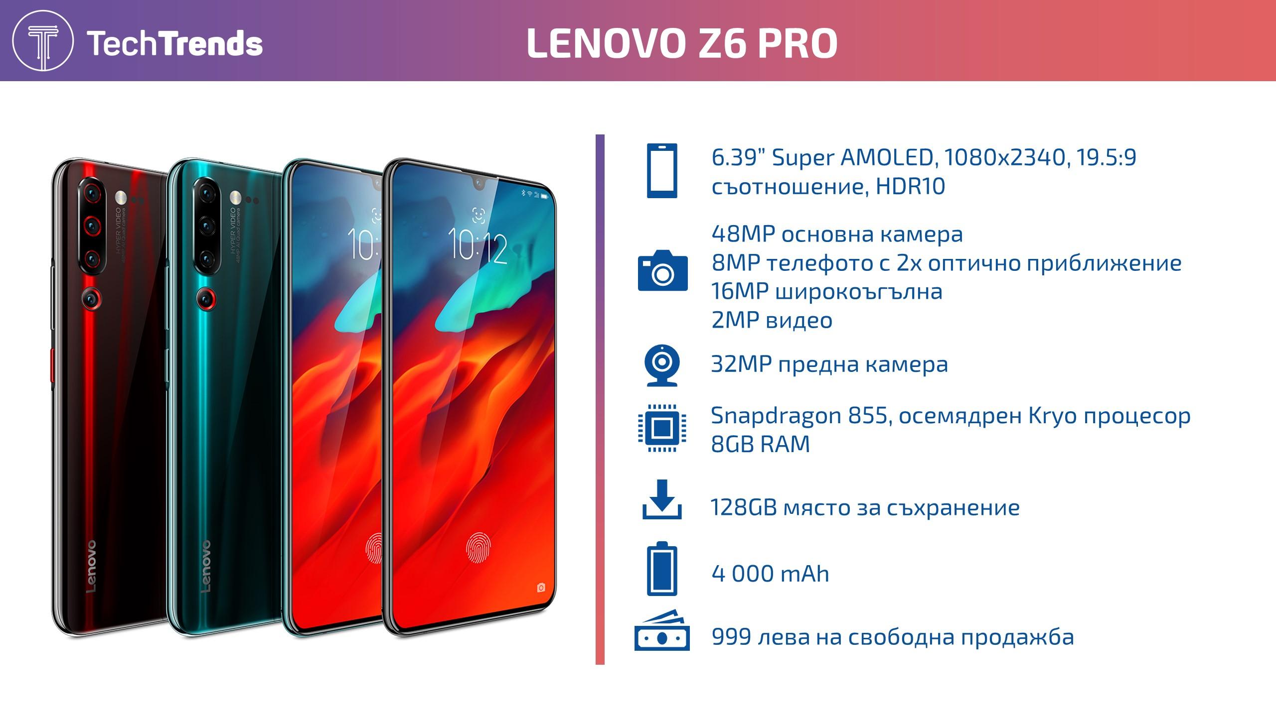 Lenovo Z6 Pro Infographic