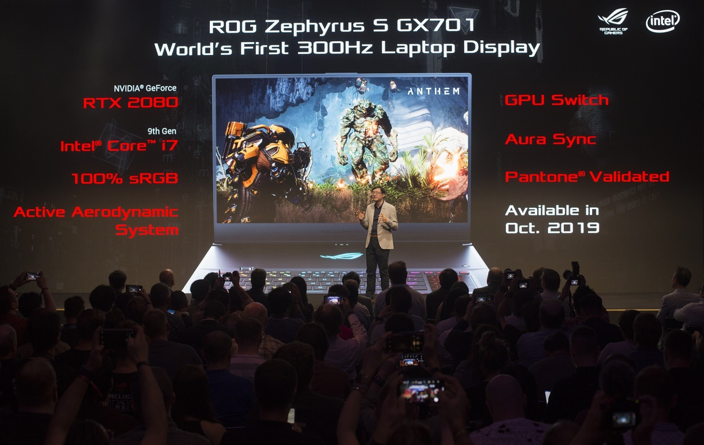 ASUS is The First to Demonstrate 300Hz Gaming Laptop