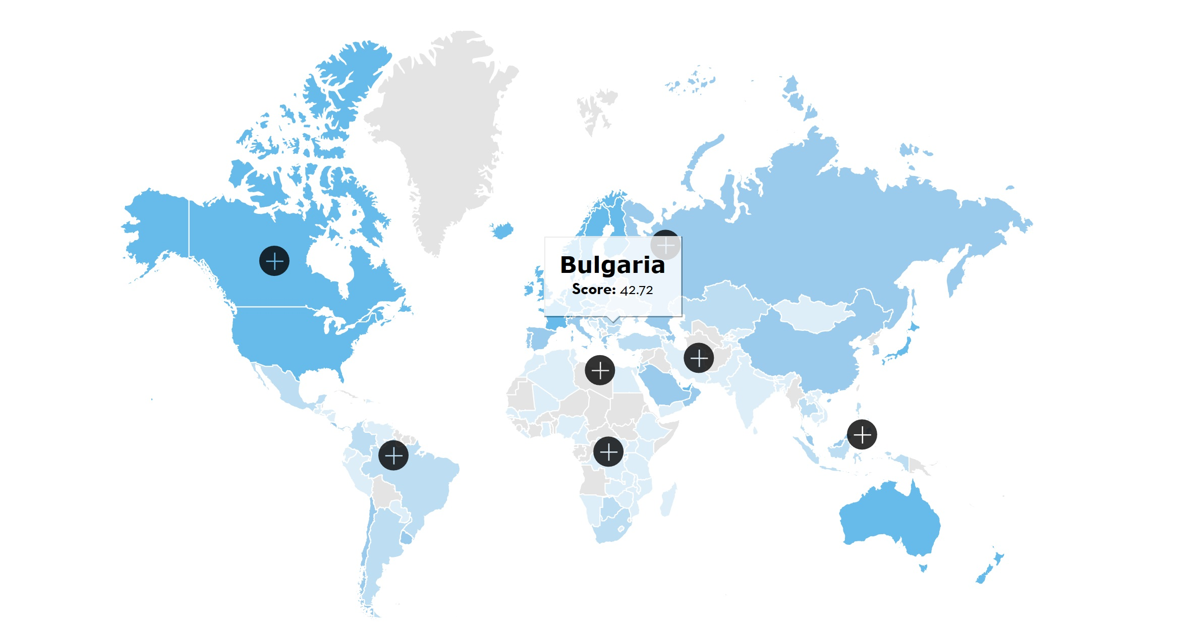 Bulgaria-Adecco-GTCI-World-Map