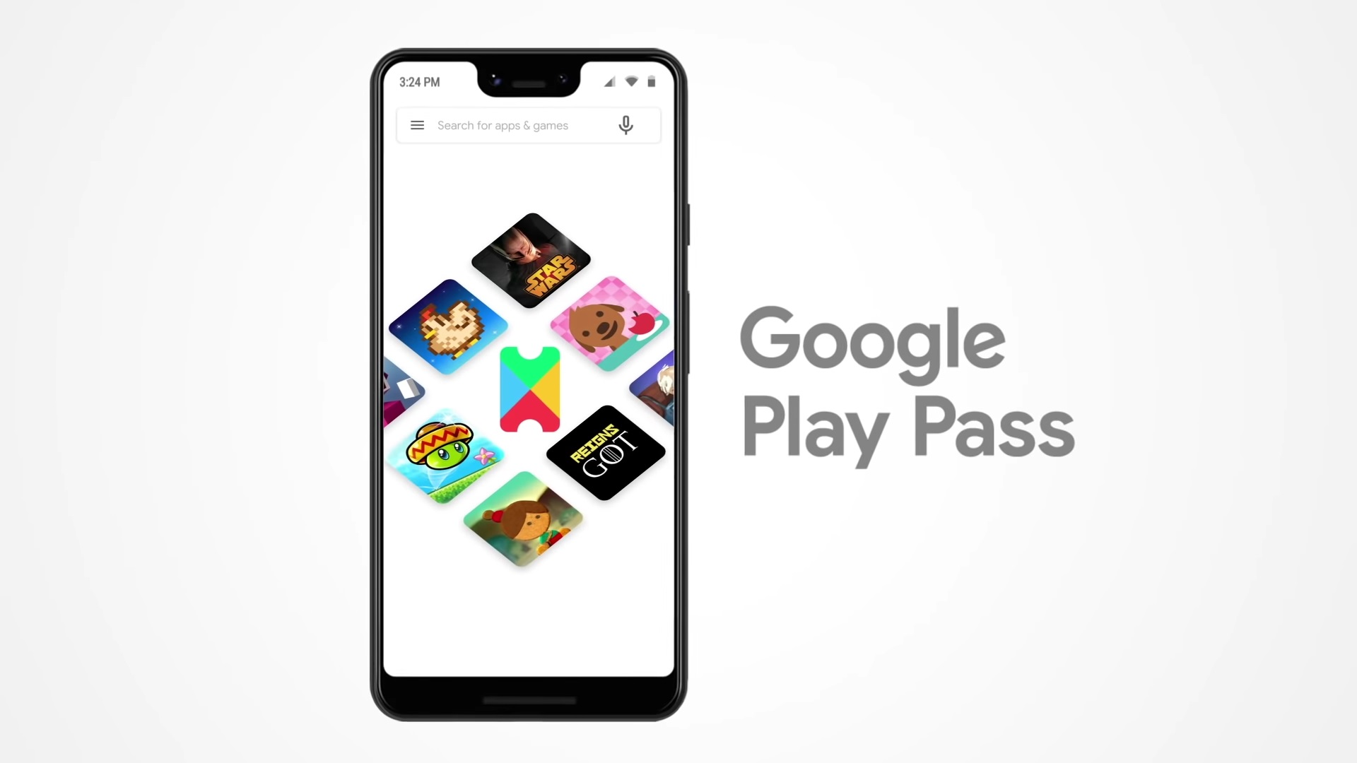 Google Play Pass KV