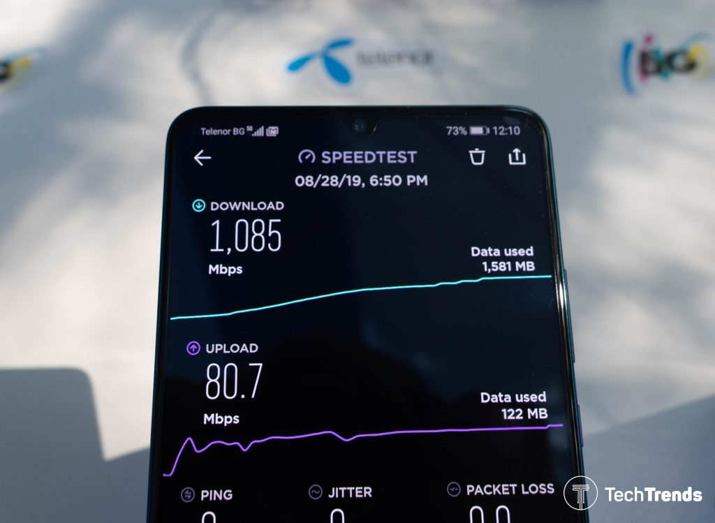 Telenor-5G-speedtest