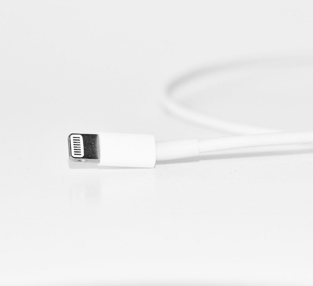 white-iphone-charger-lightning-cable