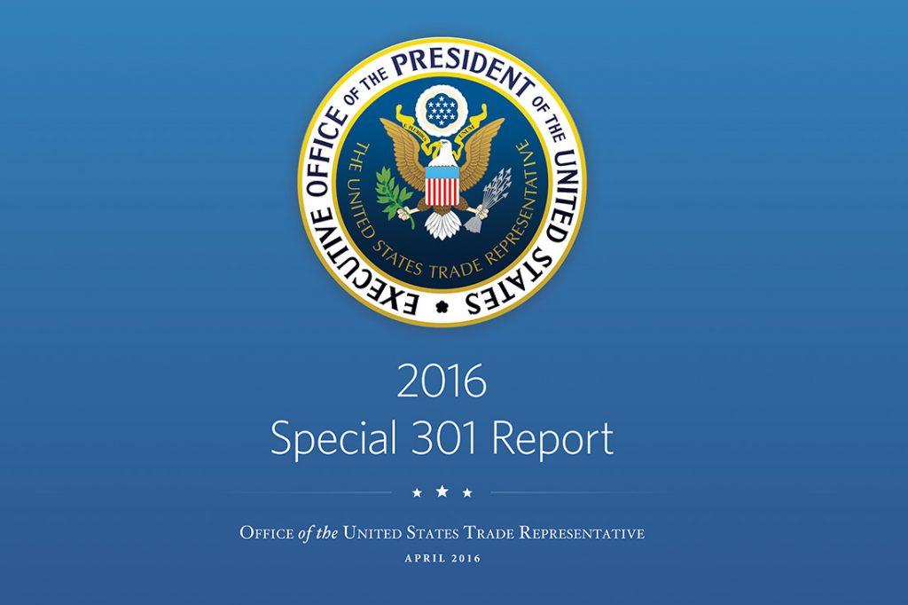 USTR-2016-Special-301