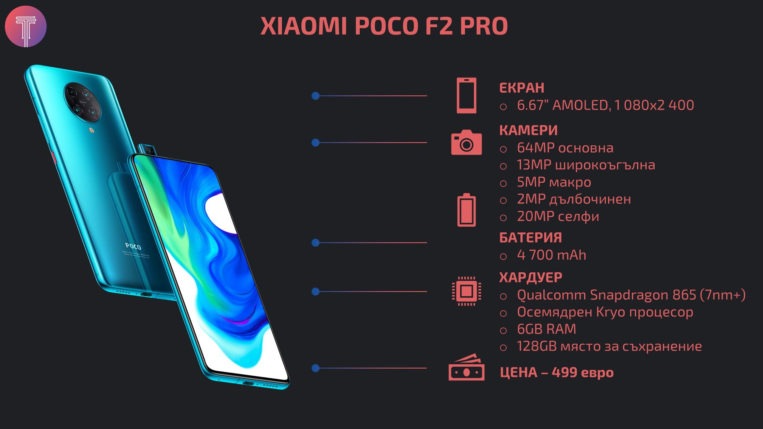 Xiaomi Poco F2 Pro Infographic