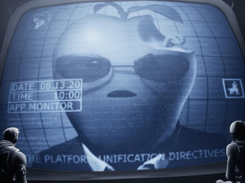 Fortnite-Apple-1984-parody