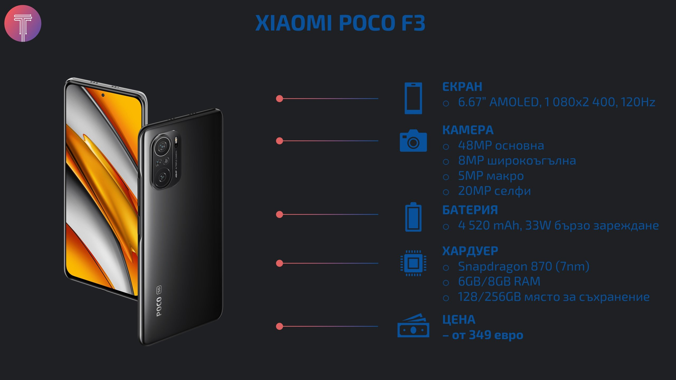 Xiaomi Poco F3 Stats