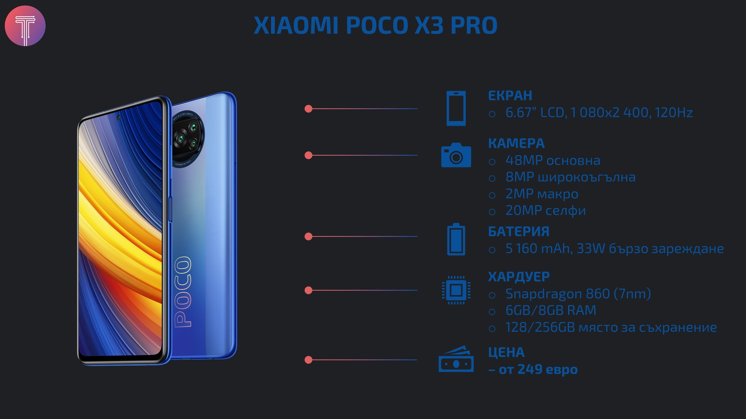 Xiaomi Poco X3 Pro Stats