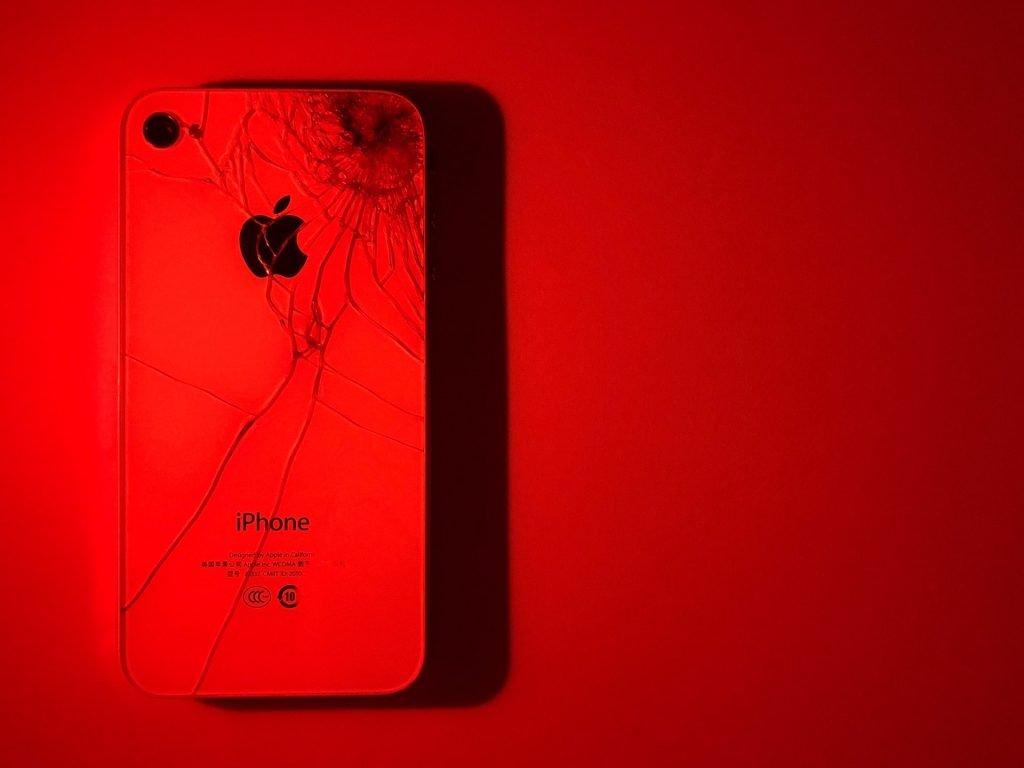 broken-red-iphone