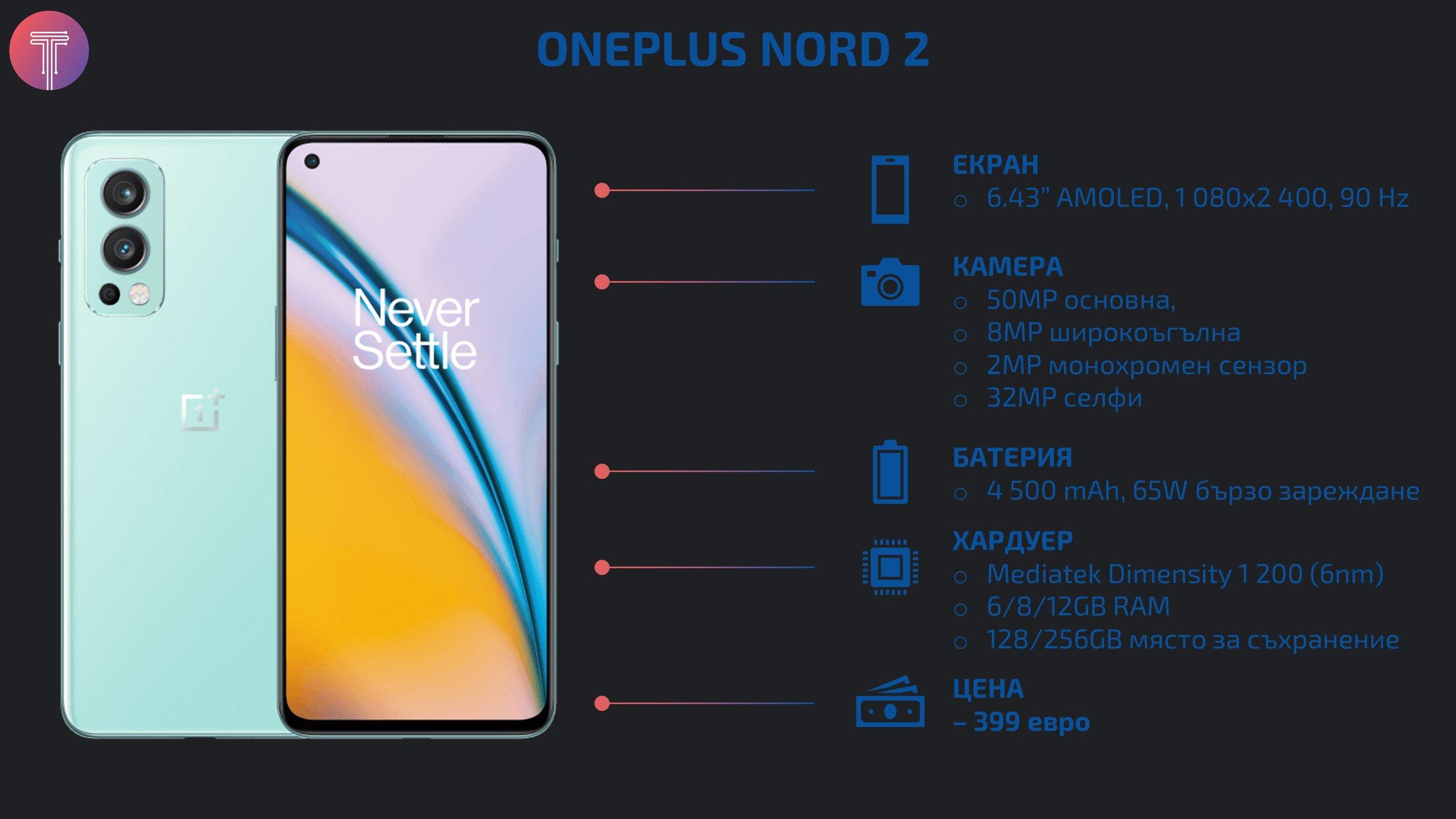 OnePlus Nord 2 Specs