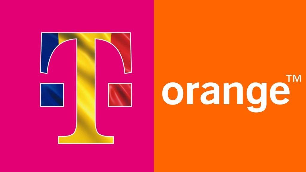 Telekom-Romania-Orange-Logos